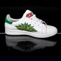 Baskets customisées Tropicool