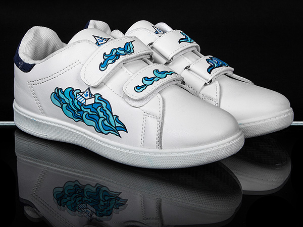 Baskets Custmisées Boat Shoe