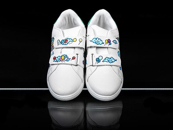 baskets personnalisées pour enfants